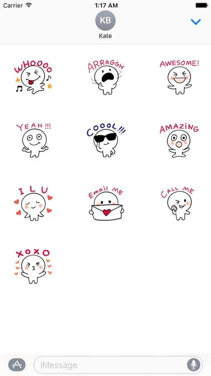 Many Cute Slang Stickers
