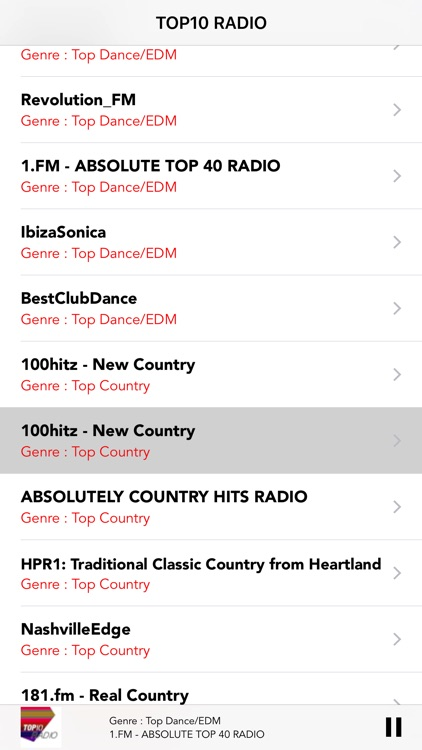 Top 10 Radio:Online Internet FM LIVE stations Free screenshot-3