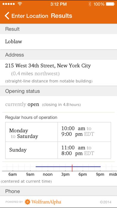 Wolfram Culinary Mathematics Reference App review screenshots