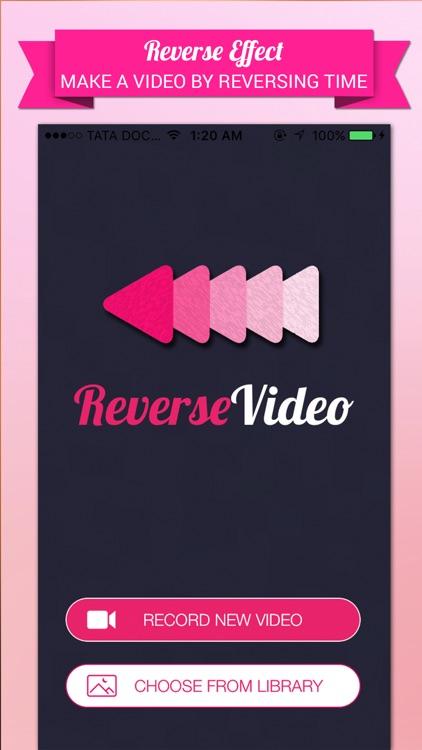 Reverse Video Editor Pro-Rewind,Cutter & Add Music screenshot-3
