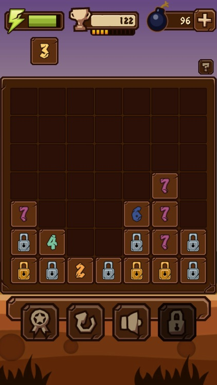 7Bricks - Complex logical puzzle game with numbers screenshot-3