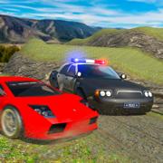越野警车追逐监狱逃跑赛车游戏