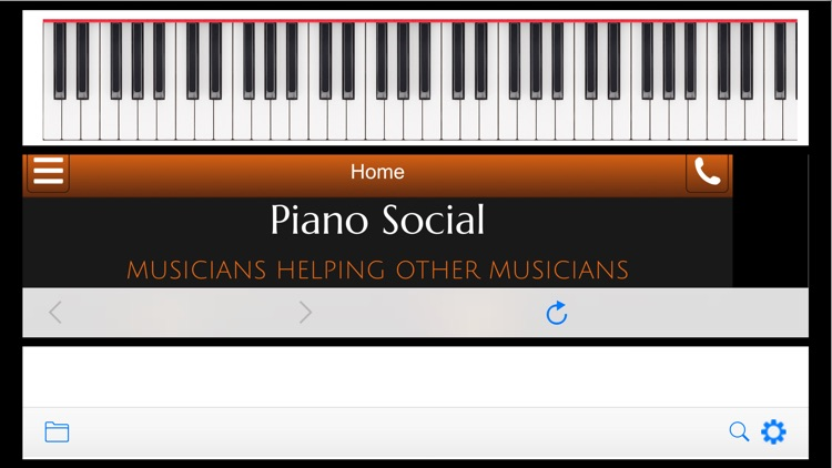 Piano Social MIDI Studio - Internet Music Teacher screenshot-3
