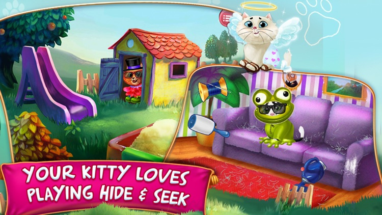 Kitty Cat Pet : Dress Up & Play screenshot-3