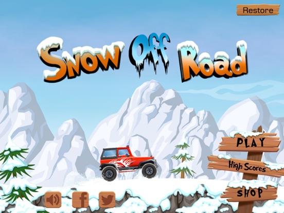 Snow Off Road Free screenshot 1