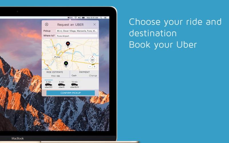 Rider for Uber Rides скриншот программы 1