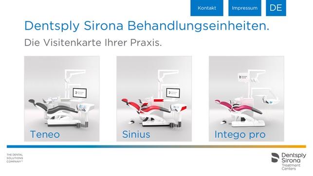 Aplikacja Dentsply Sirona Treatment Centers For Iphone W App