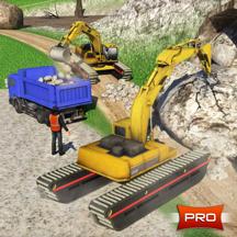 挖掘机起重机模拟器&倾倒卡车司机: PRO