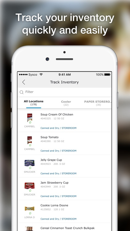 Sysco Mobile Inventory screenshot-0