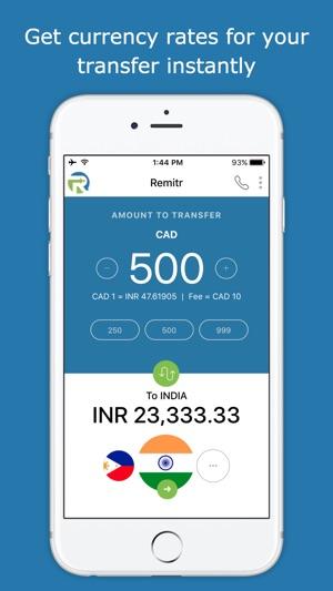 Remitr Money Transfer on the App Store