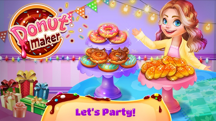Donuts Maker - Free Food Maker Sweet Cooking Games screenshot-3