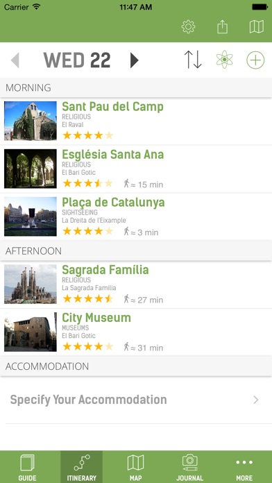Barcelona Guide - mTrip Screenshot 2