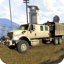 Army War Truck Parking: Battle Field Driver