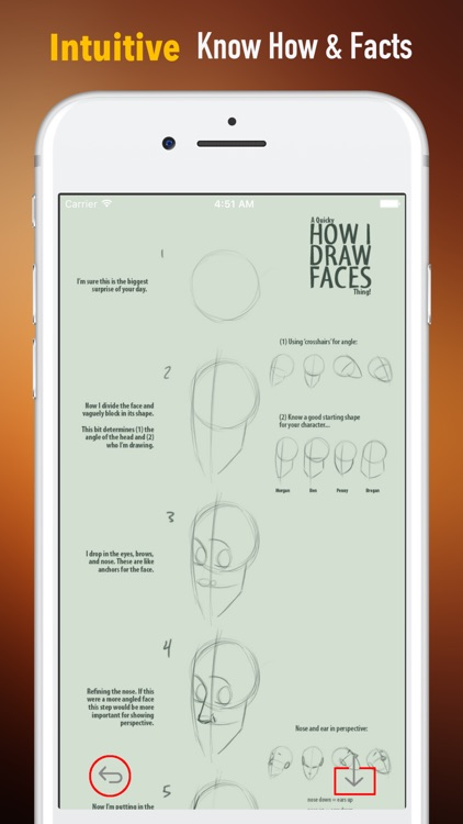 How to Draw Faces-Beginners Tutorial and Guide screenshot-0