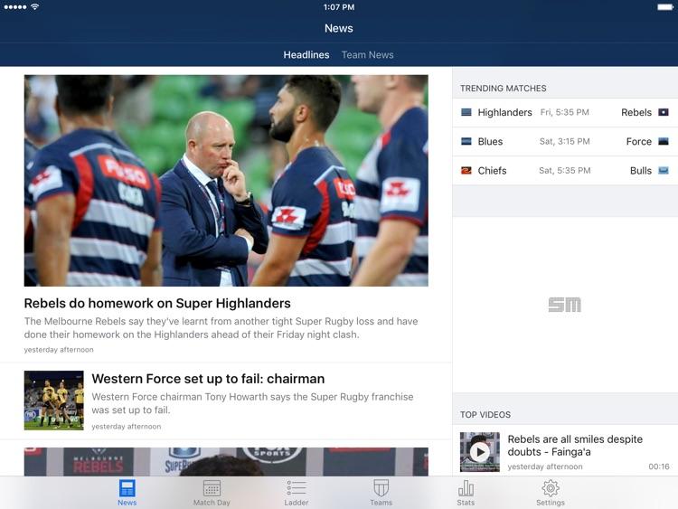 Union Live for iPad