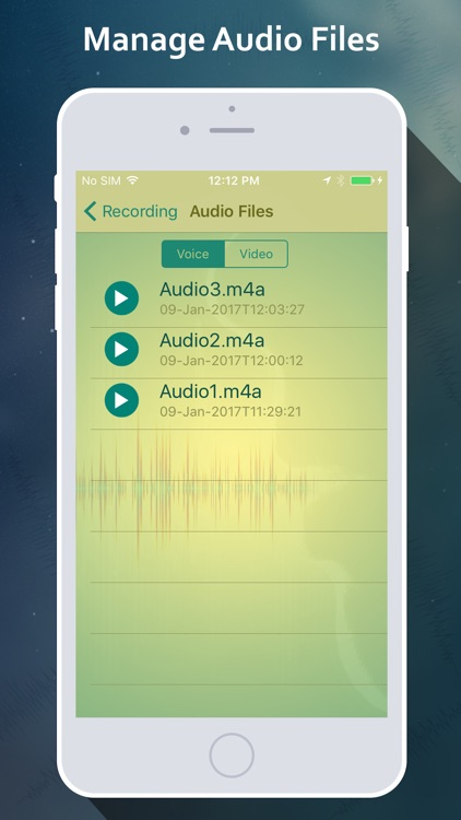 OnTouch Video Recorder - manage recorded files screenshot-4