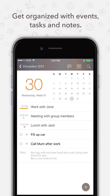 Planner Pro - Daily Calendar & Personal Organizer screenshot-0