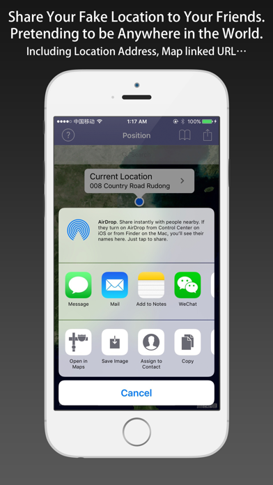 LocFaker - Change Current Location on the Map by Jian Li