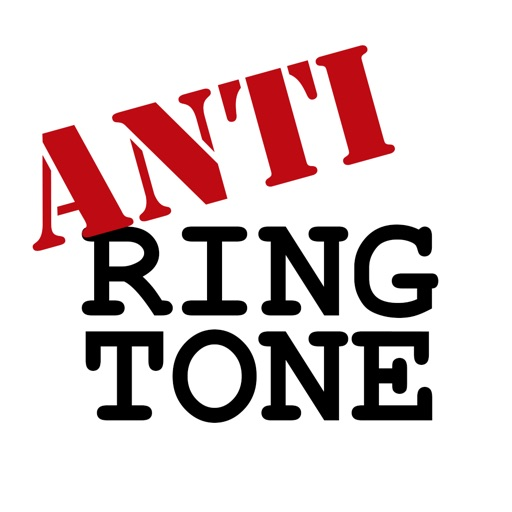 AntiRingtone: Safe Ringtones because It Can Wait icon