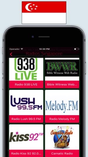 Radio Singapore FM / SG Live Radio Stations Online on the