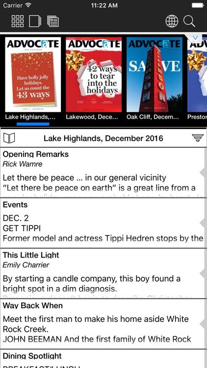Dallas Advocate Magazines HD screenshot-3