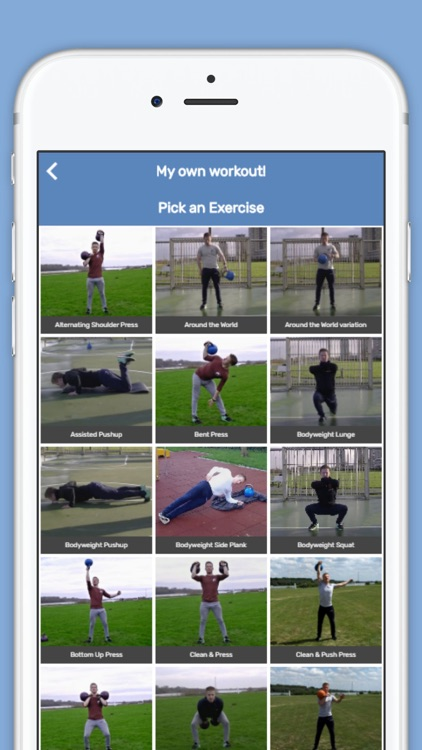 Kettlebell Tabata Workouts screenshot-4