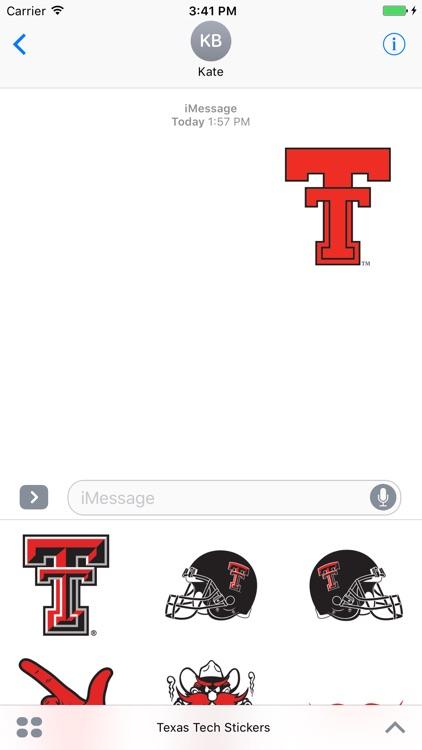 Texas Tech Stickers
