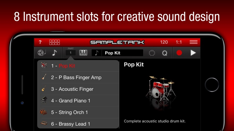 SampleTank CS screenshot-1