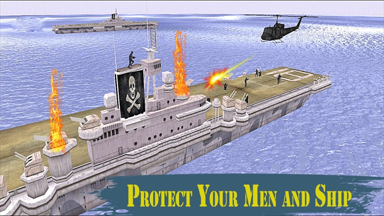 Navy Battleship Strike: Warfare Combat Shooting screenshot-3