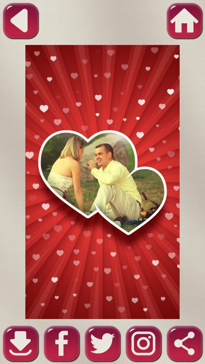 My Valentines Day Card Creator with HD Love Frames screenshot-4