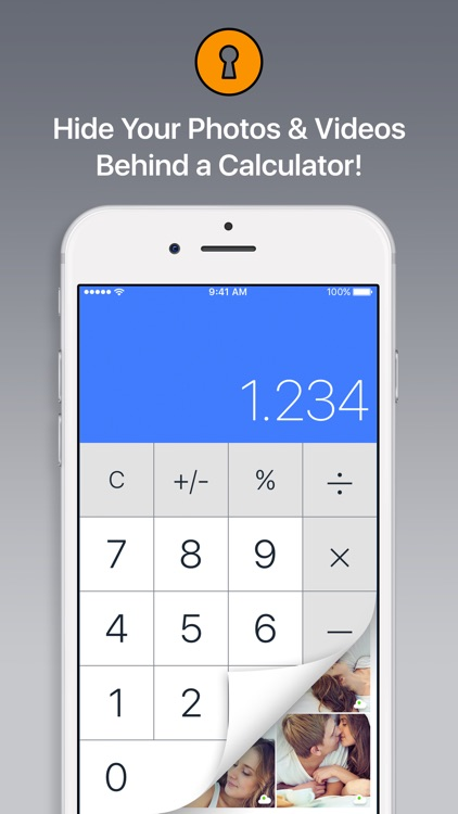 Secret Calculator Vault - Keep Private Photo Safe.