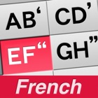 1Hand Mail / SMS French Keyboard icon