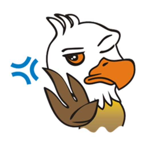 Cute Eagle Stickers