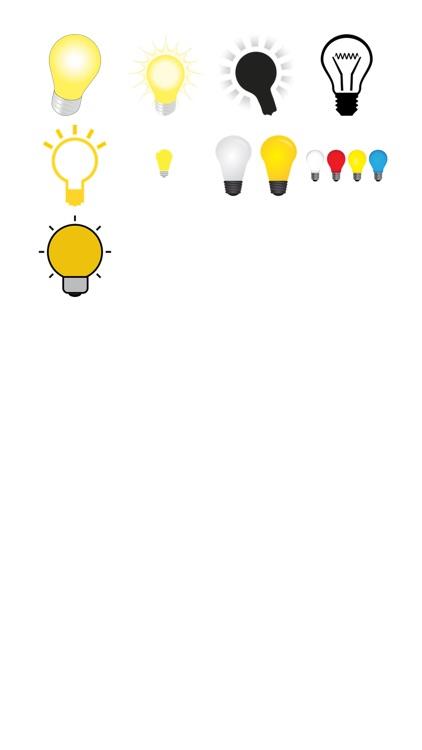 Light Bulb Sticker Pack