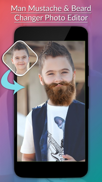 Man Mustache & Beard Photo Editor screenshot-2