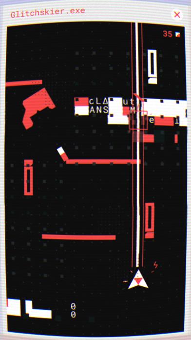 Glitchskier Screenshot 1