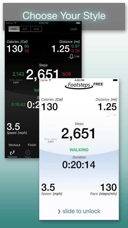Footsteps - Pedometer Free