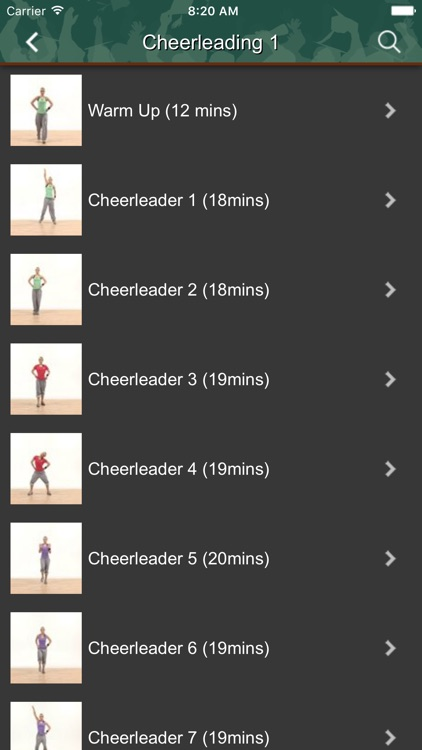 Cheerleading Workouts