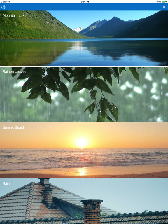 Beautiful nature videos, relaxation & sleep sounds | App