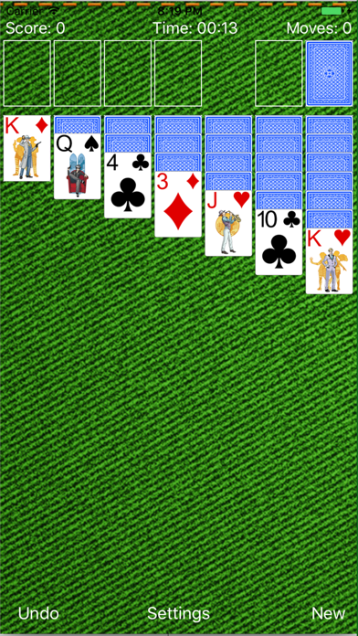 Solitaire New Classic screenshot one