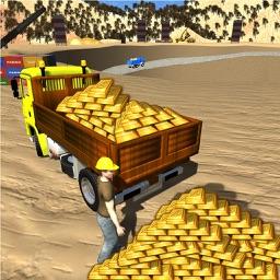 Gold Miner Real Rush Digger: Truck Drive 3D