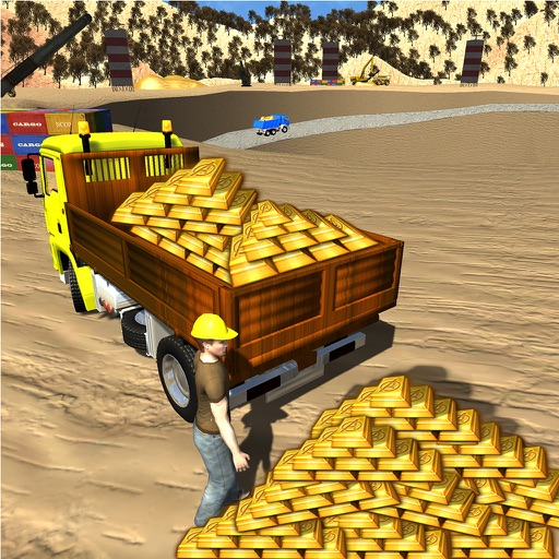 Gold Miner Real Rush Digger: Truck Drive 3D