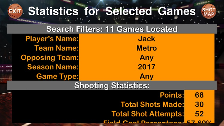 BBS Basketball Stats