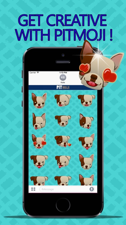 PitMoji - Pit Bull Emoji & Stickers! screenshot-2
