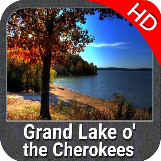 Grand Lake o the Cherokees HD - GPS Map Navigator