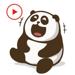 Panda Animated Happy