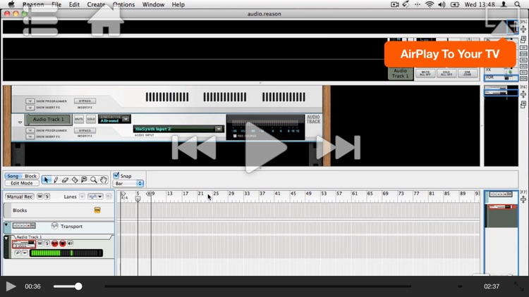MPV's Reason 6 105 - Working With Audio screenshot-3