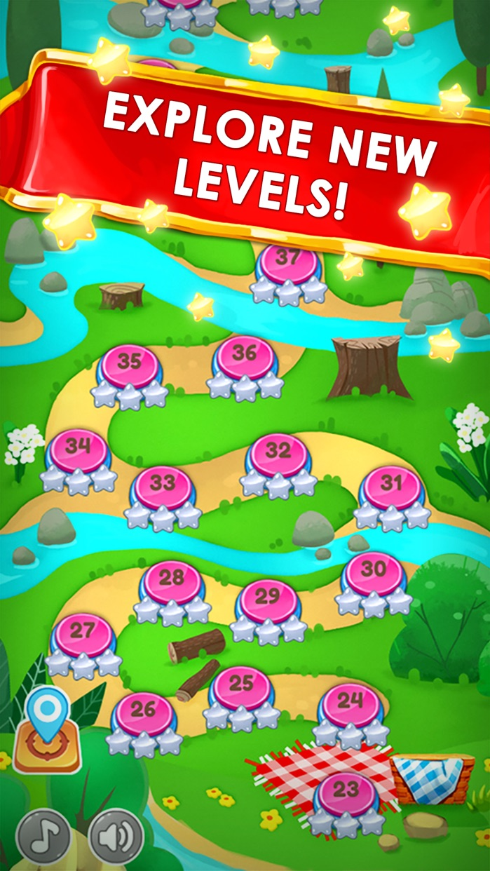 Panda Cookie - pop & smash jam Match 3 Games Free Screenshot