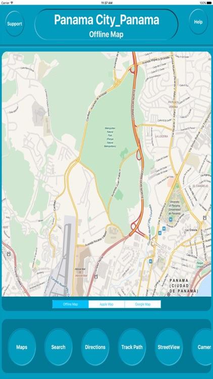 Paramaribo Sruiname Offline City Maps Navigation