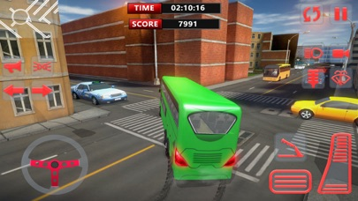 总线模拟器 3D - 城市公交车驾驶和停车 App 截图